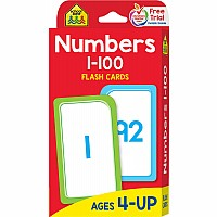 Numbers Flash Cards 1-100