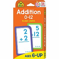 Addition Flash Cards | Math Flash Cards by School Zone