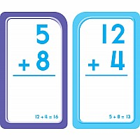 Addition 0-12 Flash Cards