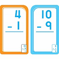 First and Second Grade - 0-12 Subtraction Flash Cards