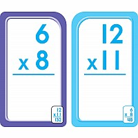 3rd, 4th and 5th Grade - Multiplication Flash Cards 0-12