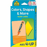 P-K | Colors and Shapes Flash Cards
