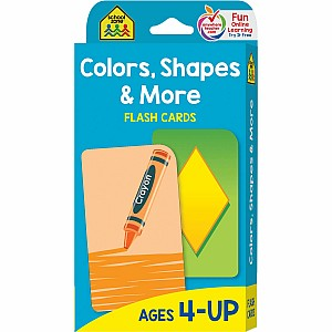 Colors, Shapes & More Flash Cards
