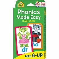 Phonic Flash Cards | Reading Flash Cards by School Zone