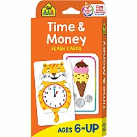 1st, 2nd and 3rd Grade - Time and Money Flash Cards