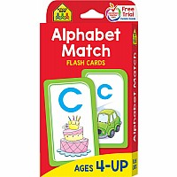 P-K | Alphabet Match Flash Cards