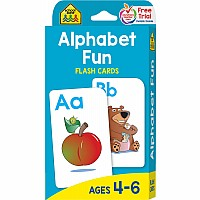 Alphabet Fun Flash Cards | 4-6