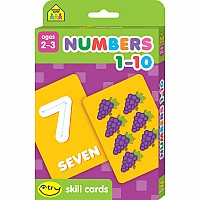 Numbers 1-10 I Try Skill Cards