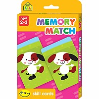 Memory Match I Try Skill Cards