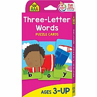 K to 1st Grade - Spelling and Reading Puzzle Flash Cards