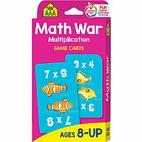 3rd to 5th Grade | Math War Multiplication Game