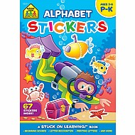 Alphabet Stickers Workbook (16-Page)