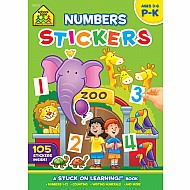 Numbers Stickers Workbook (16-Page)
