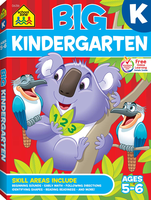 Big Kindergarten Workbook Kool Child