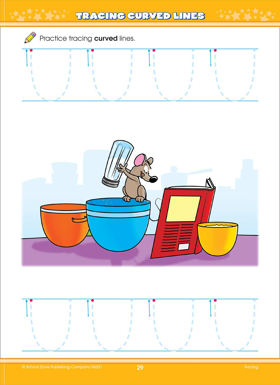 Workbooks big third grade workbook : Big Preschool Activity Workbook - Fun Stuff Toys