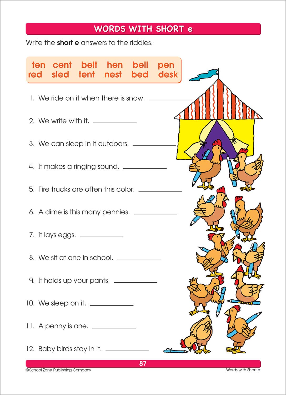 Workbooks big third grade workbook : Big Spelling 1-3 Workbook - Fun Stuff Toys