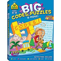 Big Codes, Puzzles & More Workbook