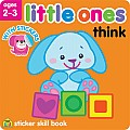 Little Ones Think Sticker Skill Book