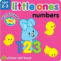 Little Ones Numbers Sticker Skill Book