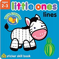 Little Ones Lines Sticker Skill Book