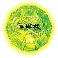 Tangle NightBall Glow in the Dark Light Up LED Mini Ball (single ball - assorted colors)
