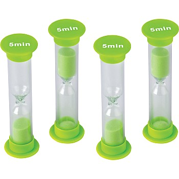 5 Minute Sand Timers - Small