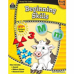 Ready Set Learn Workbook: Beginning Skills (PreK - K)