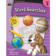 Rsl: Word Searches (Gr. 3)