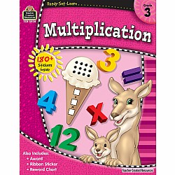 Ready Set Learn Workbook: Multiplication (Gr. 3)