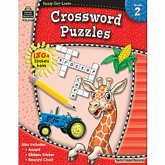 Rsl: Crossword Puzzles (Gr. 2)