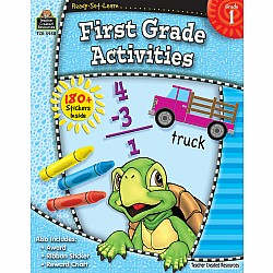 Ready Set Learn Workbook: First Grade Activities (Gr. 1)