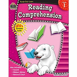 Ready Set Learn Workbook: Reading Comprehension (Gr. 1)