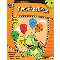 Ready Set Learn Workbook: Preschool Fun (PreK)