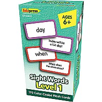 Sight Words Flash Cards - Level 1
