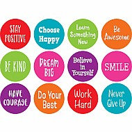 Spot On Positive Sayings Carpet Markers - 4""