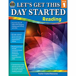 Let''S Get This Day Started: Reading (Gr. 1)