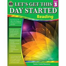 Let''S Get This Day Started: Reading (Gr. 3)