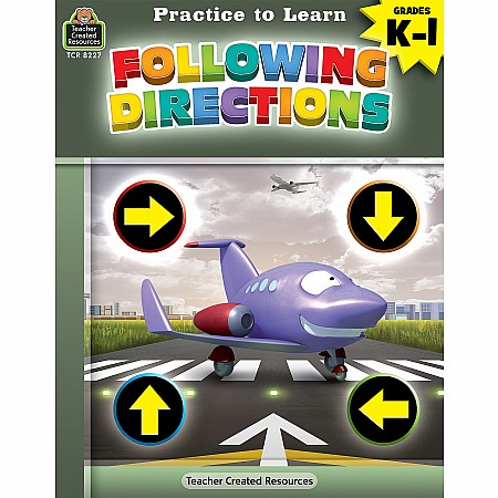 Practice To Learn: Following Directions (Gr. K - 1)
