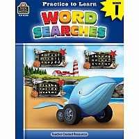 Practice To Learn: Word Searches (Gr. 1)