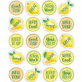 Lemon Zest Stickers
