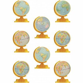 Travel The Map Globes Accents