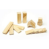 Tegu 14-Piece Set - Natural Magnetic Blocks