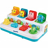 Epoch Kidoozie Pop 'n Play Animal Friends