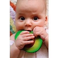 Arnold the Avocado Rubber Teether
