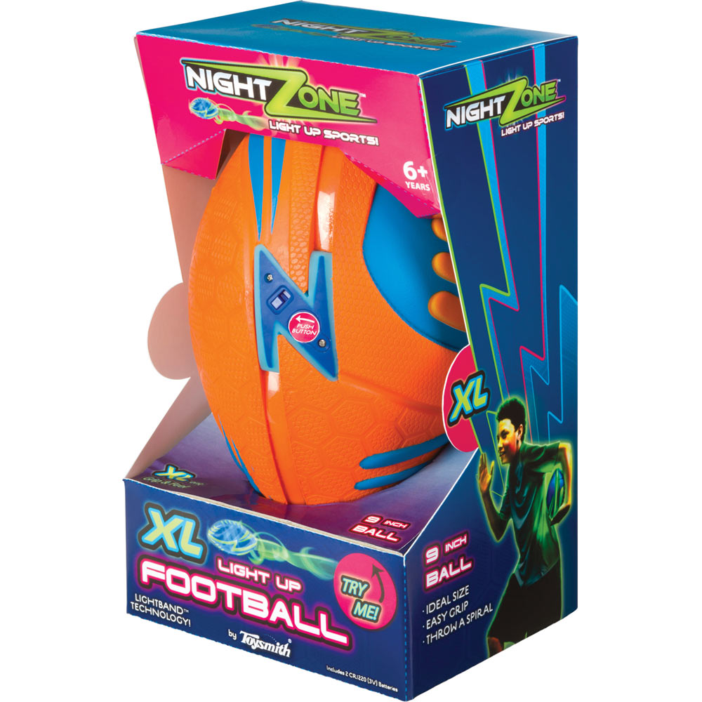 Nightzone Xl Light Up Football The Good Toy Group