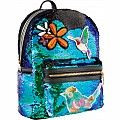 Magic Sequin & Patches Mini Backpack - Mermaid