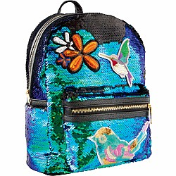 Fashion Angels Magic Sequin & Patches Backpack - Mermaid