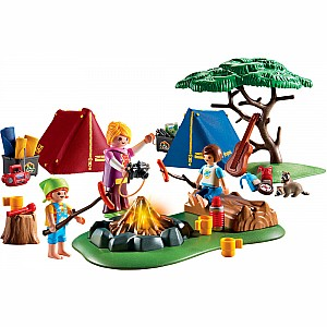 Playmobil Camp Site with Fire Set