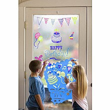 Let's Celebrate Stencils and Window Markers