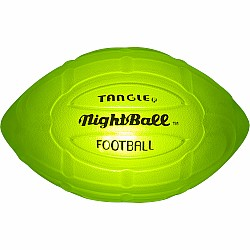 NightBall® Football - Large - Green (New Color)